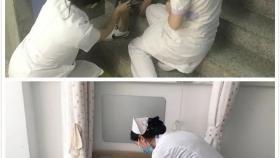 青岛眼科医院开展护理应急演练