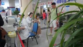 青岛眼科医院北部院区(门诊视力、眼压检查区)